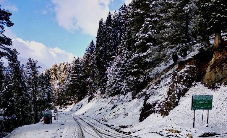 Kashmir higher reaches receive fresh Snowfall, rains in plains