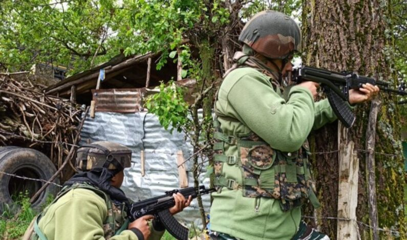 Two militants killed in ongoing encounter in Shopian