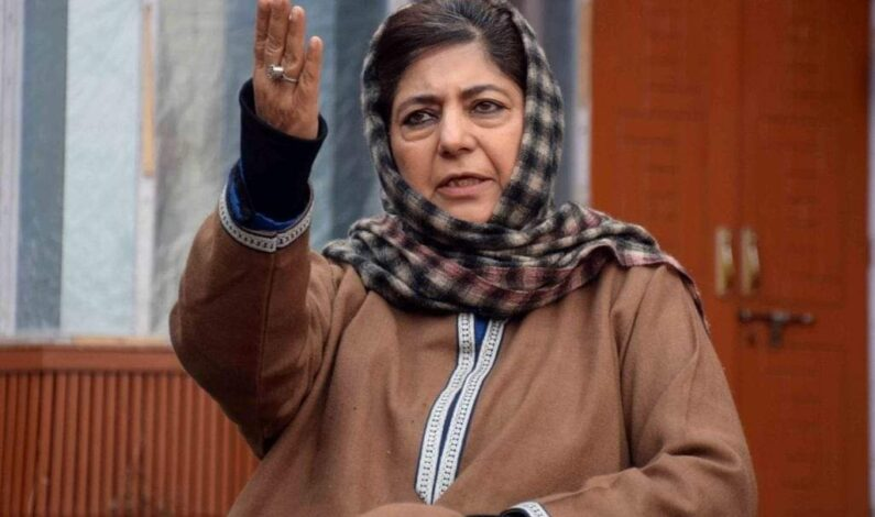 Won't contest elections till Article 370 is restored: Mehbooba Mufti