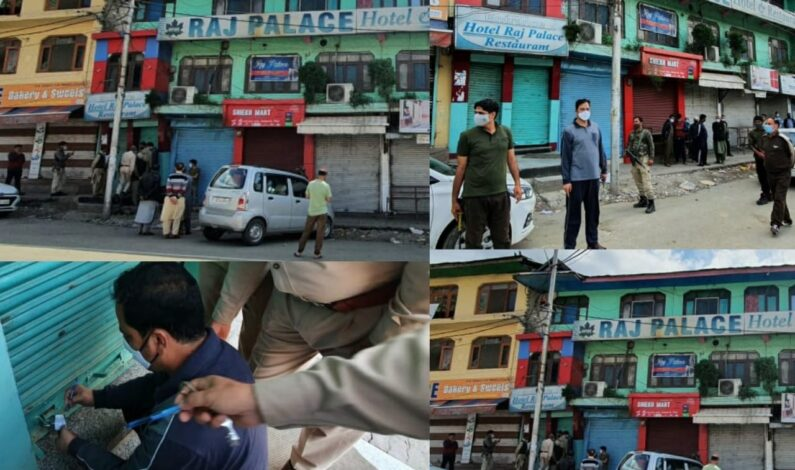Raj Palace Hotel in Kupwara Sealed Over 'Lockdown Violation'