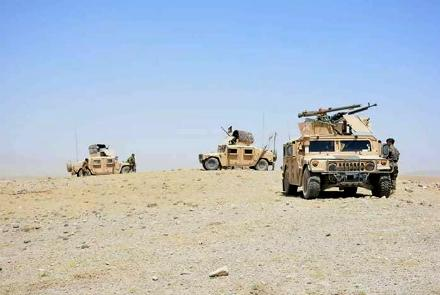 Six soldiers Killed in a Car Bomb Attack in Afghanistan