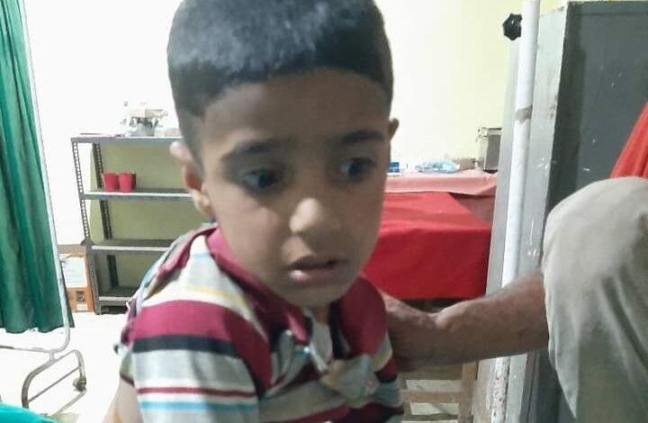 Minor boy rescued miraculously after taken away by leopard in Kunzer village