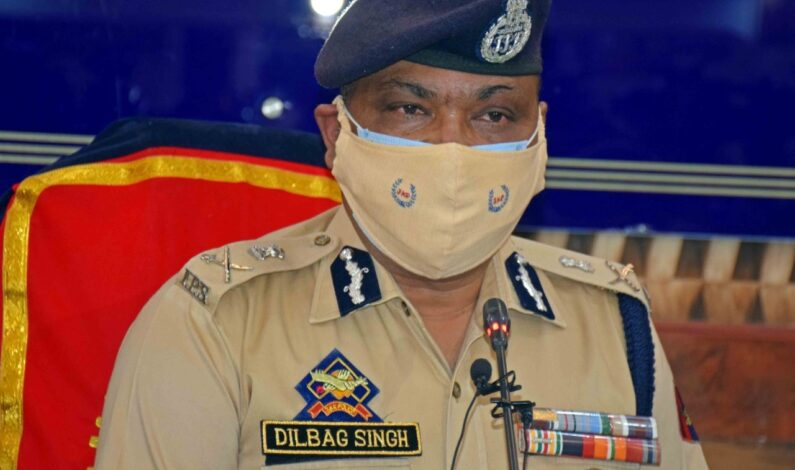 Police not fighting one-sided 'war' against militancy in J&K: DGP Dilbagh Singh