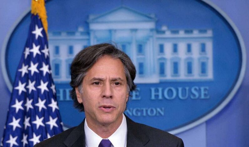 US Secretary of State Antony J Blinken to arrive in New Delhi today on a two day visit