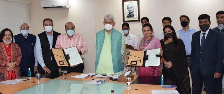 J&K admin inks MoU with Jindal South West  Foundation for restoration, conservation of Shalimar & Nishat Gardens