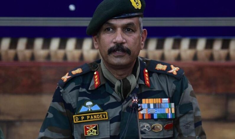 Every hostile element will be dealt with rigorously: GoC DP Pandey