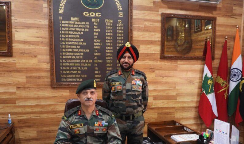 Major General Sanjiv Singh Salaria Takes Over As GoC Kilo Force