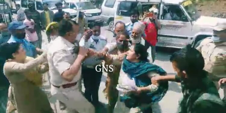 5 Officials, Civilians Injured As Protest Turns Awry in Surankote