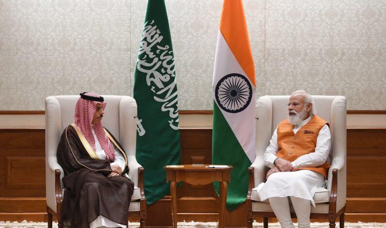 PM Modi meets Saudi Foreign minister, discuss bilateral initiatives, regional developments