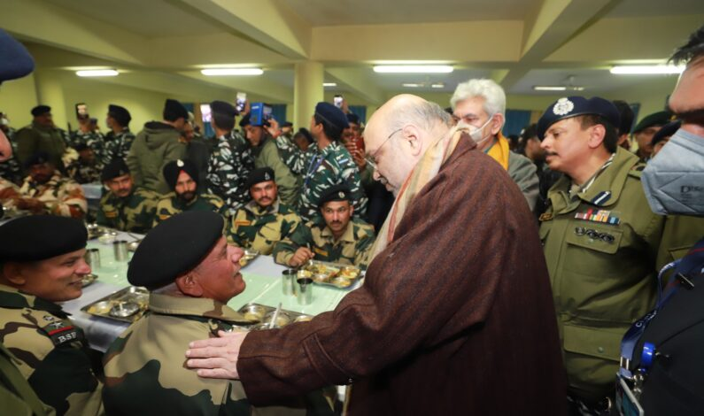 Stone pelting tag removed from Kashmir; Courtesy: professional handling of situation by forces, says Amit Shah
