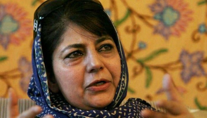 HM's Mann ki baat with Kashmiri youth started with slapping UAPA: Mehbooba on FIR against students