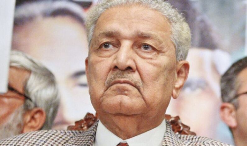 Pakistan's Nuclear scientist Dr Abdul Qadeer Khan passes away