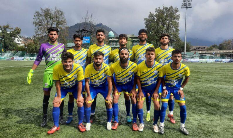 Premier League: Arco FC beat Kashmir Avengers by 2-1 goals .