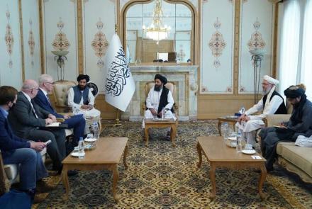Afghan deputy prime minister's meets US envoy in Kabul, seeks release of frozen bank accounts