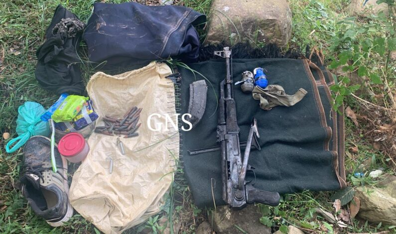 Arms, ammo recovered at Poonch encounter site: Police