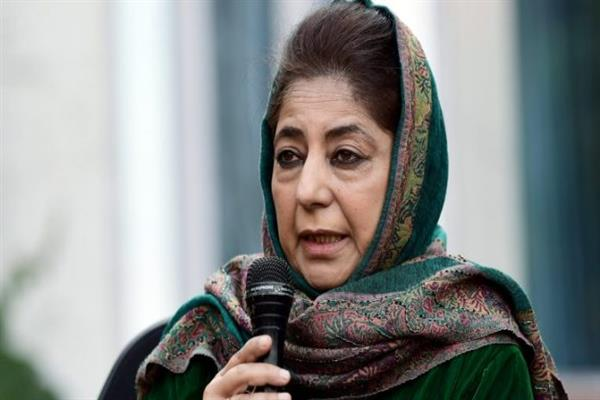 Centre disrespecting majority sentiment with closure of mosques: Mehbooba Mufti